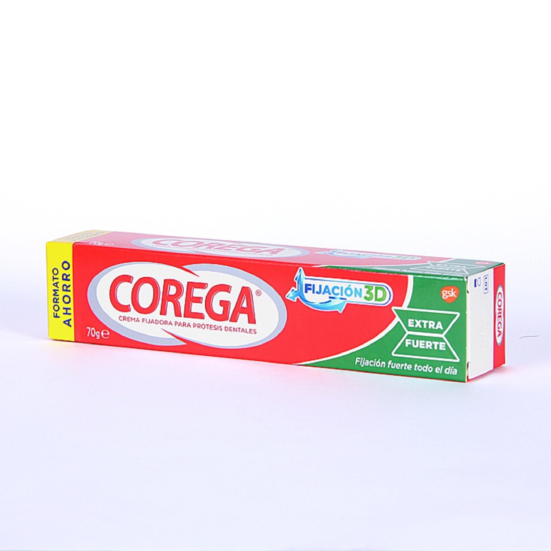 Crema Fijadora Para Prótesis Dentales Corega 70g Protección Aplicación Dentadura