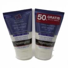 Pack Oferta 2 x Crema de Manos Anti Edad Neutrogena Soja Activa SPF25 Hidrata
