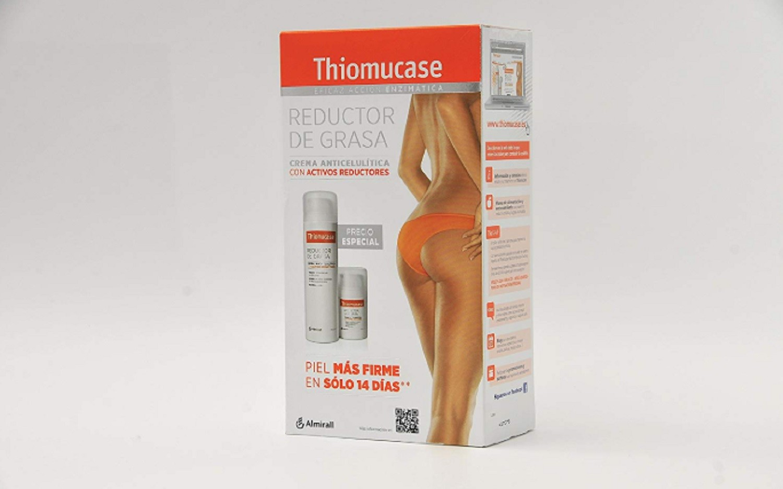 Pack Reductor de Grasas Crema Anticelulítica Thiomucase Reduce La Celulitis