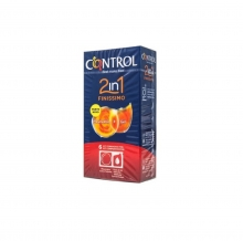 6 x Preservativos Finissimo + Gel 2en1 Control Sexo Placer Sensibilidad Kit
