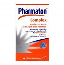 Pharmaton Complex 60 Capsulas Blandas Recuperar Energía Vitaminas Cansancio
