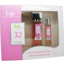 Pack de perfume 150 ml + 30 ml iap perfume nº 32 eau de parfum mujer estuche
