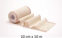 Venda Elástica de Crepé Usodel 10x10 Ideal para Torceduras Varices Traumatismos