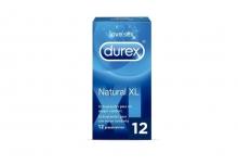 12 x Preservativos Natural XL Durex Love Sex Extragrandes Placer Sexo Grandes