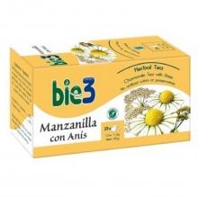 Bio3 Infusión Manzanilla con Anís Eliminación de Gases Cuidados Salud Bienestar
