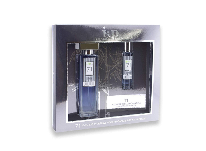 Pack de perfume 150 ml + 30 ml iap perfume nº 71 eau de parfum hombre estuche