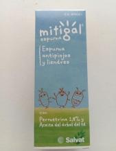 Mitigal Espuma Antipiojos y Liendres Salvat Tratamiento Fácil y Cómodo Cuidados Bienestar