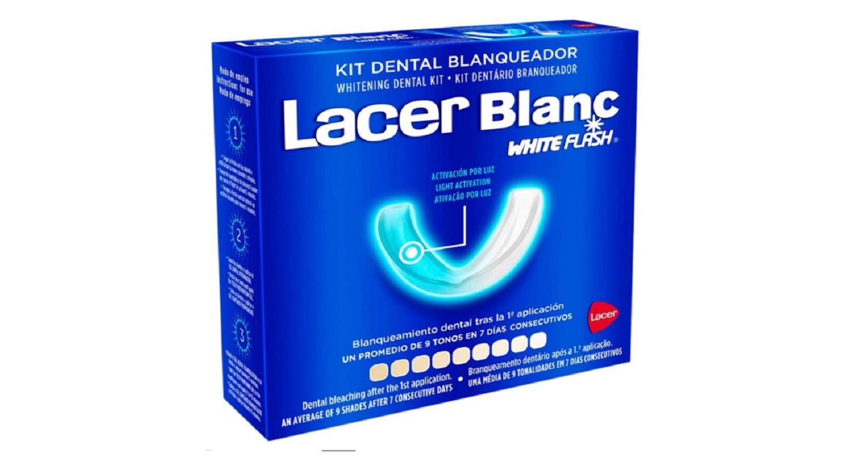 Kit Dental Blanqueador Lacer Blanc Blanqueamiento Dental Tras La 1ª Aplicacion