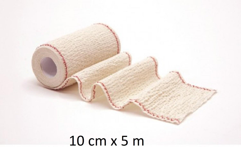 Venda Elástica de Crepé Usodel 10x5 Ideal para Torceduras Varices Traumatismos