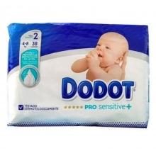 36 x Pañales Dodot Pro Sensitive + Talla 2 Peso 4-8 Kilos Protección Limpieza