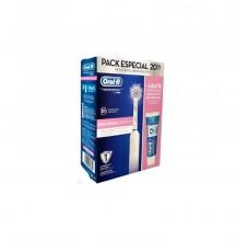 Pack Especial Cepillo Eléctrico Oral B 800 Sensi UltraThin + Pasta Dientes Salud