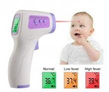 Termometro Infrarrojo Techealth Distancia 3,15cm Sin Contacto Pantalla Grande
