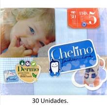 30 x Pañales Chelino Talla 5 13 a 18 Kilos Limpieza y Cuidad Pañal Bebes Pack