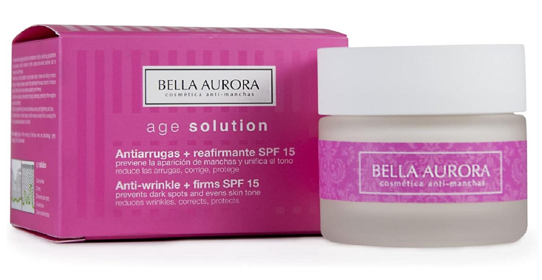 Skin Solution Age Solution Bella Aurora Antiarrugas + Refirmante SPF 15