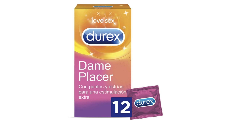 12 x Preservativos Durex Love Sex Dame Placer Condones Con Puntos Y Estrias Sexo