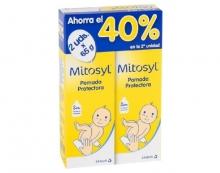 Pack 2x65g Pomada Protectora Mitosyl Ahorro Duplo Piel Limpieza Niños Niñas
