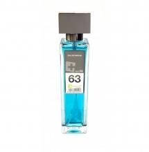 Agua de colonia perfume numero 63 de 150 ml hombre iap pharma belleza salud