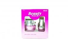 Pack de Belleza Beauty BIMAIO Crema Facial Hidrante Anti edad + Contorno Ojos