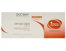 Complemento Alimenticio para el Cabello Uñas Cuero Anacaps Ducray 90 Cápsulas