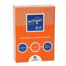 Mitigal Fenotrín KIT Tratamiento Antipiojos SALVAT Cuidados Bienestar Salud Prevención