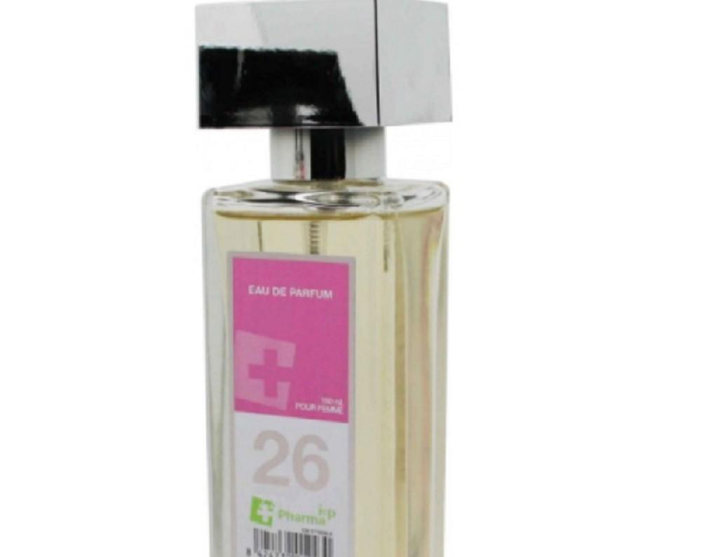 Agua de colonia perfume numero 26 de 150 ml mujer iap pharma belleza salud