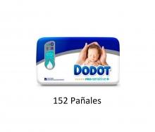 152 x Pañales Dodot Pro Sensitive + Talla 0
