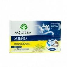 Aquilea Sueño Melatonina Descanso 30 Comprimidos BICAPA Cuidados Bienestar Salud