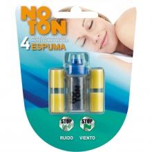 4 x Tapones De Espuma Protectora Para El Oído Ruido Exterior Relajación Concentración