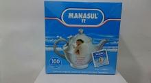 100x Bolsitas Manasul Té Formula Original Infusión Natural Mejorar Digestión 100%